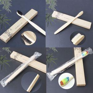 Bambusový zubní kartáček