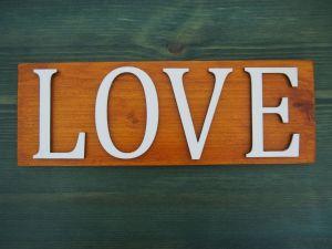 """Dekorační dřevěná cedule s nápisem """"ořech"""" 3 varianty"""