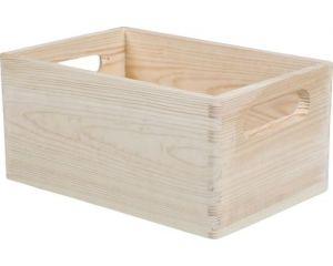 Dřevěná bedýnka 20x30x14cm