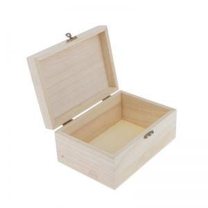 Dřevěná krabička 17.5 x 8 x 12.5 cm