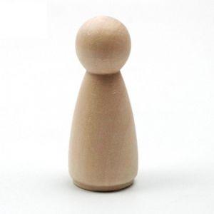Dřevěné figurky k malování 10kusů