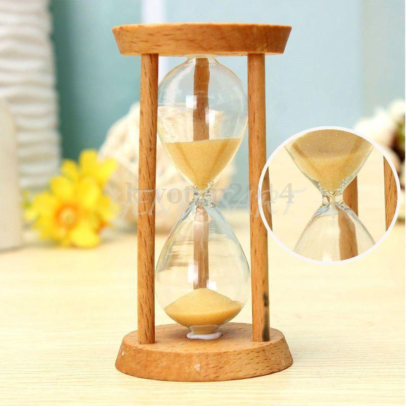 Dřevěné přesýpací hodiny 3 minuty