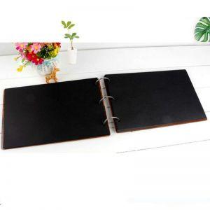 Fotoalbum s dřevěnými deskami BABY