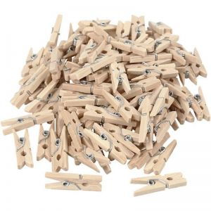 Malé dřevěné kolíčky 100ks