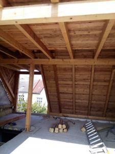 Střechy - krovy, tesařské práce