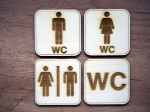 Cedulky WC