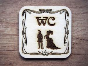 Cedulky WC viktoriánské