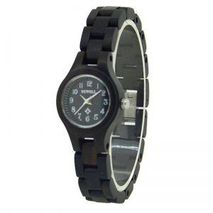 Dámské hodinky Bewell dřevěné s číslicemi