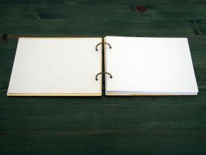 """Fotoalbum s dřevěnými deskami na míru """"věnec"""""""