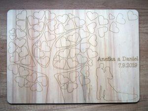 "Kniha hostů ""strom natur"""