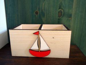 Pastelkovník námořnický s loďkou