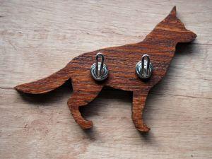 Věšáček na klíče německý ovčák