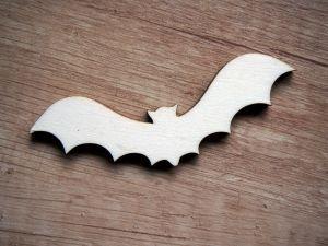 Výřez z překližky netopýr