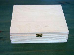 Dřevěná krabička na čaj se 12 přihrádkami