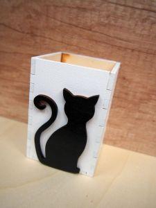 Stojan na tužky kočka