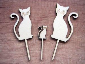 Zápichy kočičky, 3ks