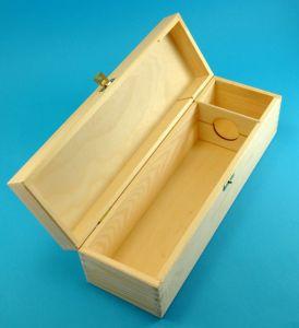 Dřevěná krabice/box na víno