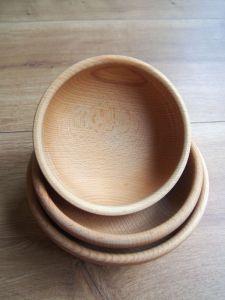 Dřevěná miska 18cm