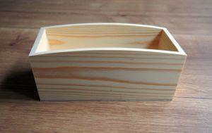 Dřevěná vanička 24x13,2x9cm