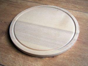 Dřevěné prkénko kulaté 25cm