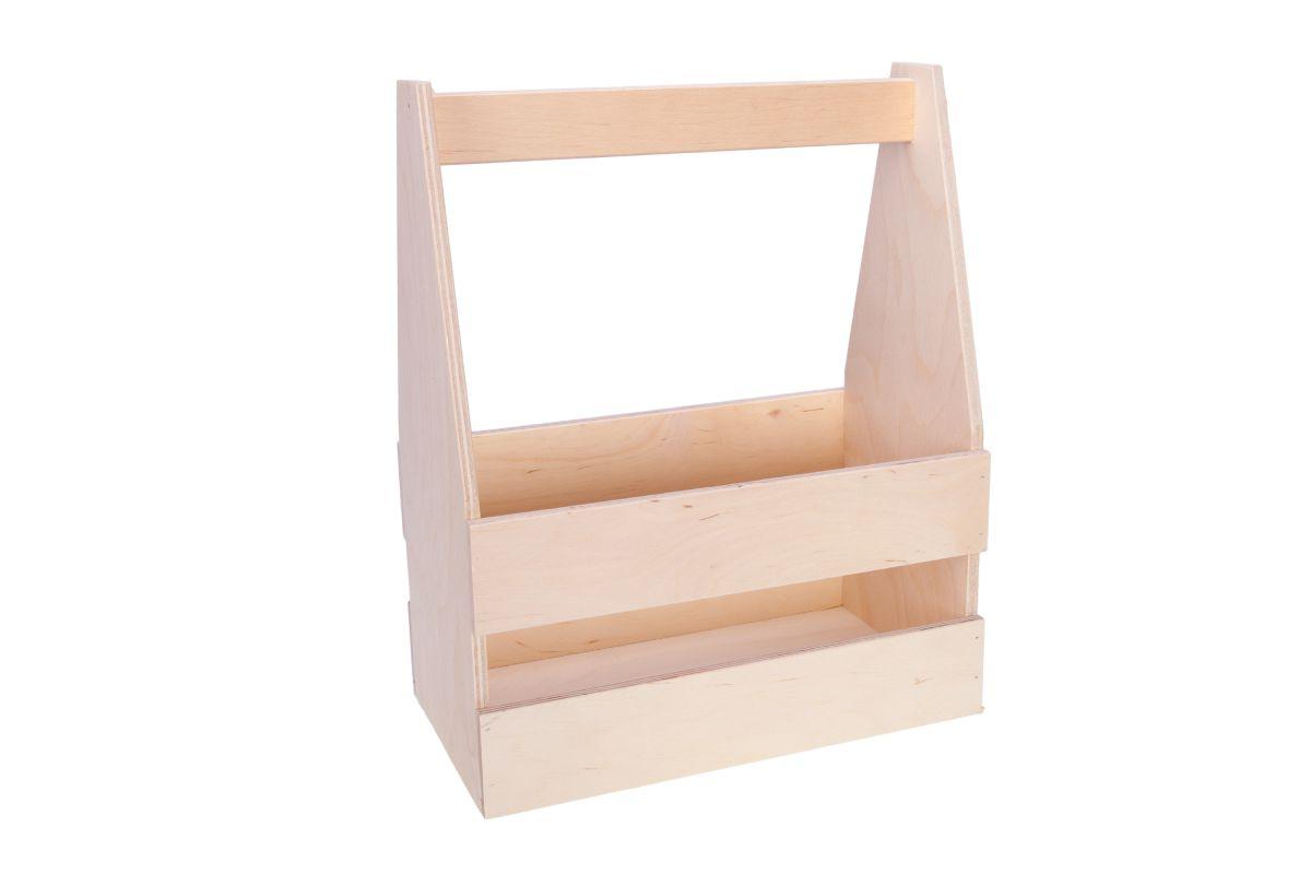 Dřevěný nosič na 8piv
