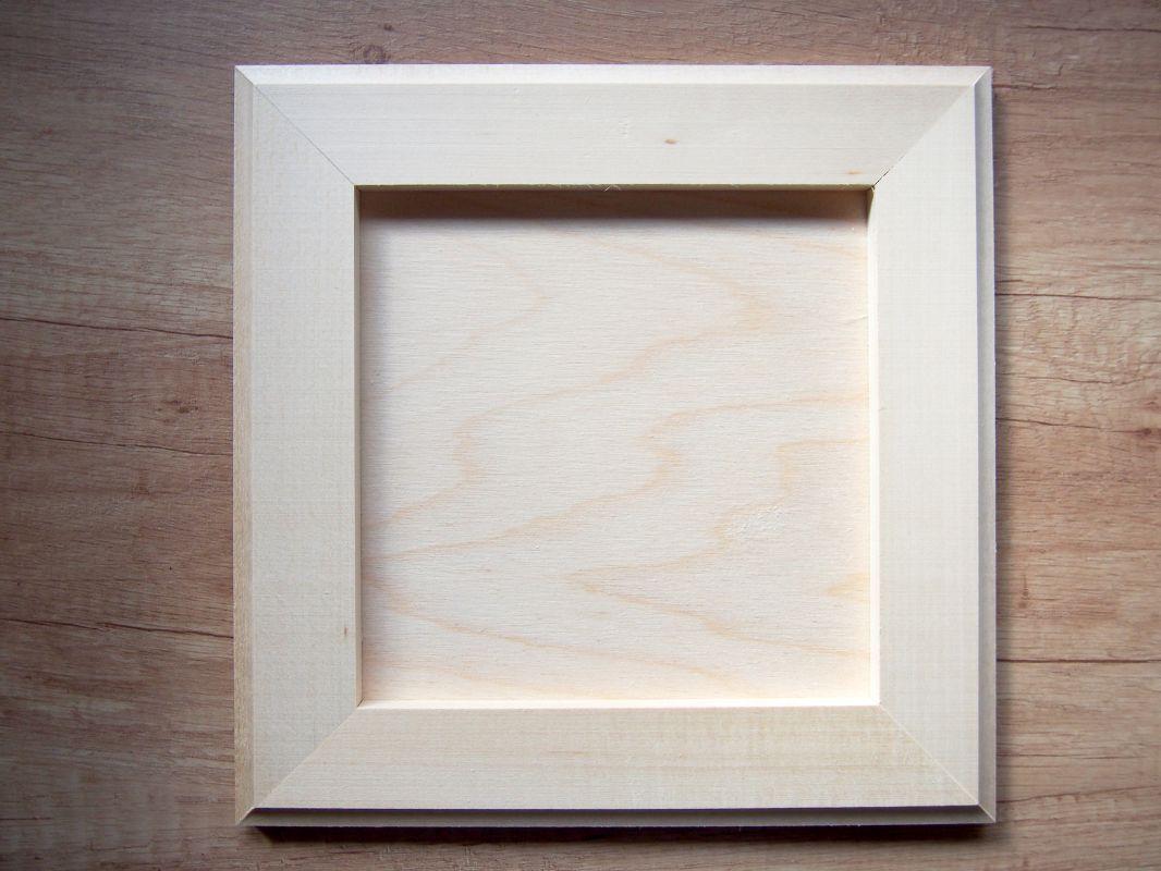 Dřevěný rámeček na fotky, obrázky
