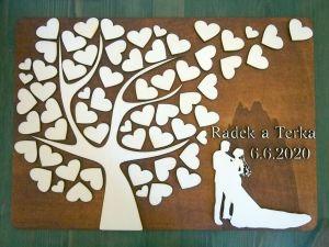 "Kniha hostů ""strom"""