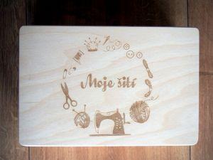 Bedýnka 30x20x14cm s gravírovaným vlastním textem, motivem