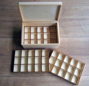 Box s přihádkami/šperkovnice 30x20x13,5cm s baletkou