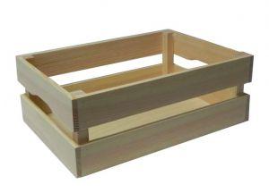 Dřevěná bedýnka- 33x22x14,5