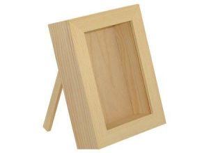 Dřevěná vitrína na dekorování
