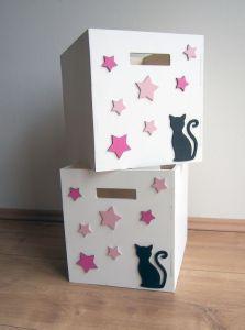 Box na hračky 33x33x37cm dětský