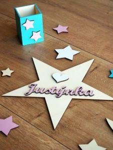 Dřevěné dekorace a doplňky do dětských pokojíčků