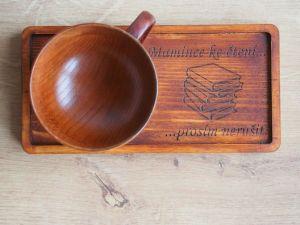 Dřevěné nádobí