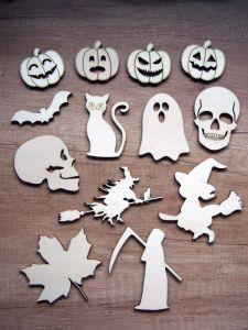 Halloweenské,  čarodějnické a podzimní dekorace