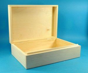 Krabičky,  boxy a truhly zavírací,  s víkem